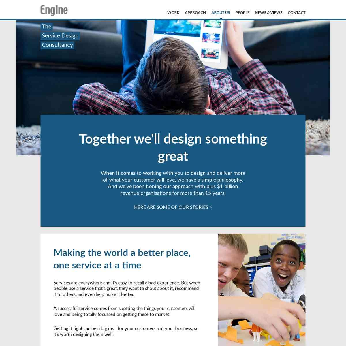 Engine Service Design | Service Design