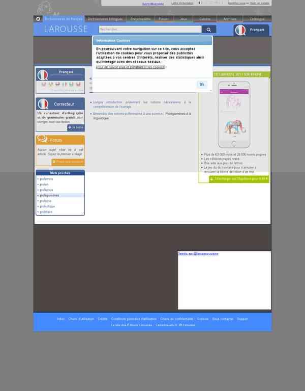 larousse.fr/dictionnaires/francais/prol%C3%A9gom%C3%A8nes/64246
