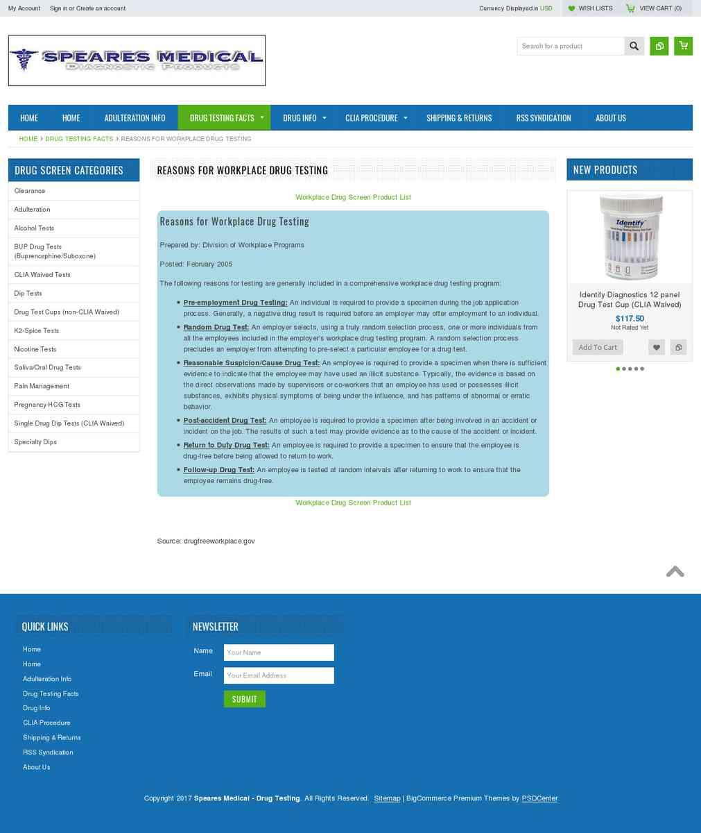 Pre-Employment   Workplace Drug Testing