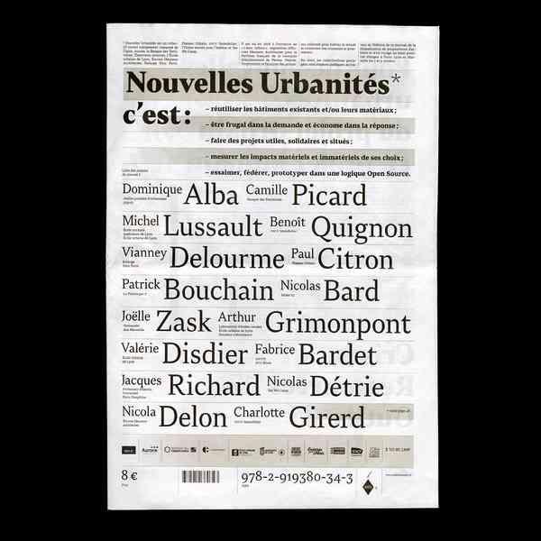 Nouvelles Urbanités=