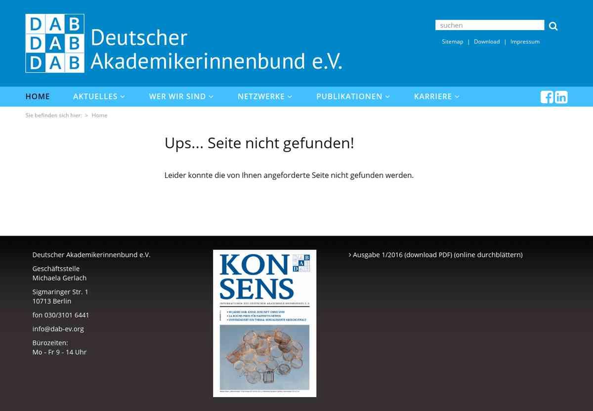 Kontakt :: Deutscher Akademikerinnen Bund e.V.