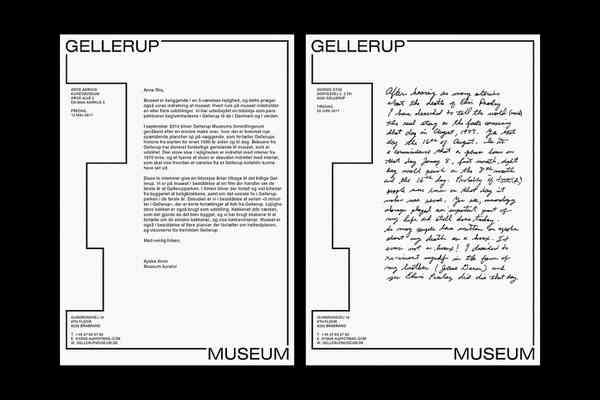 Gellerup Museum | Letterhead