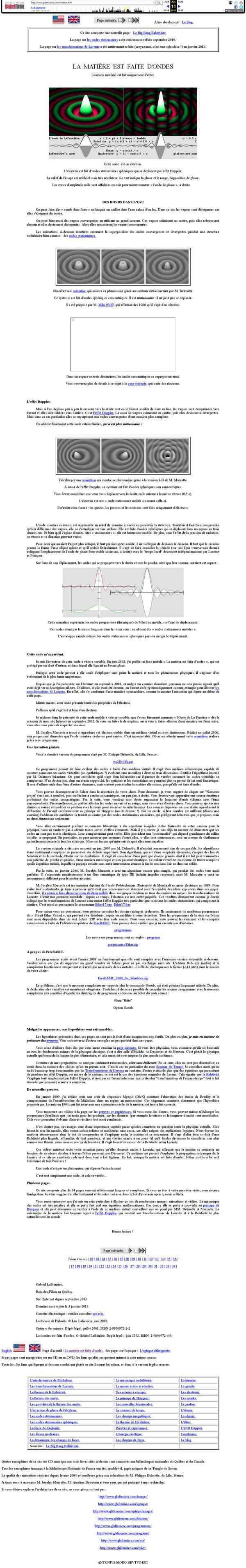 web.archive.org/web/20110711100519/http://www.glafreniere.com/matiere.htm