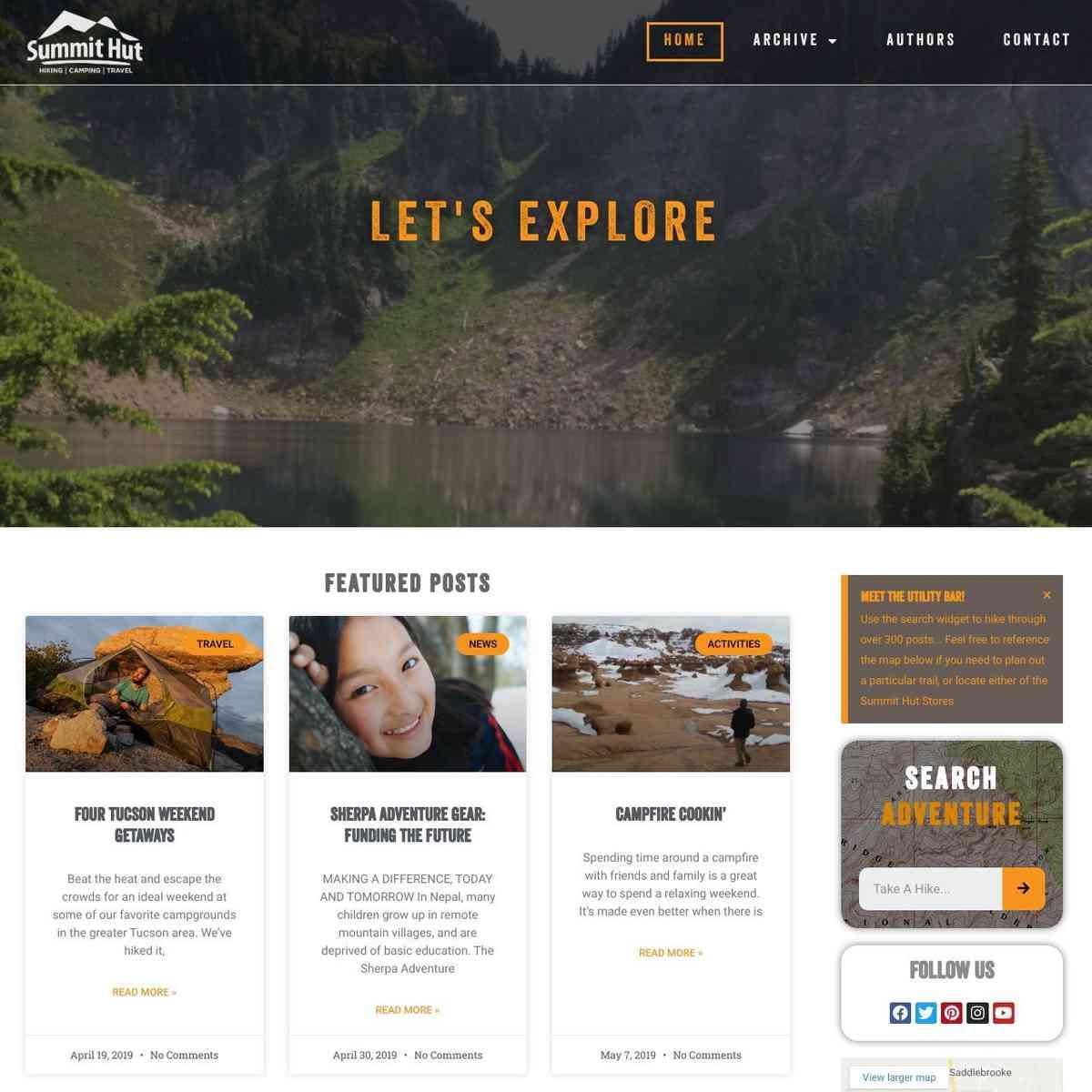 Summit Hut Blog