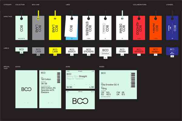 Brand New: New Logo and Identity for BOO by Rice