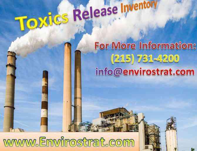 Toxics Release Inventory USA Envirostrat.com | ...
