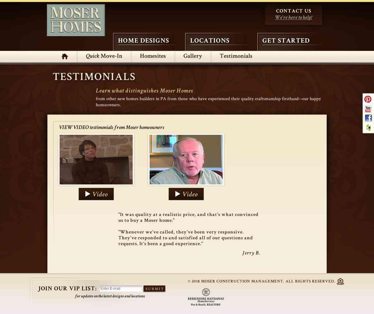 http://www.moserhomes.com/testimonials.php