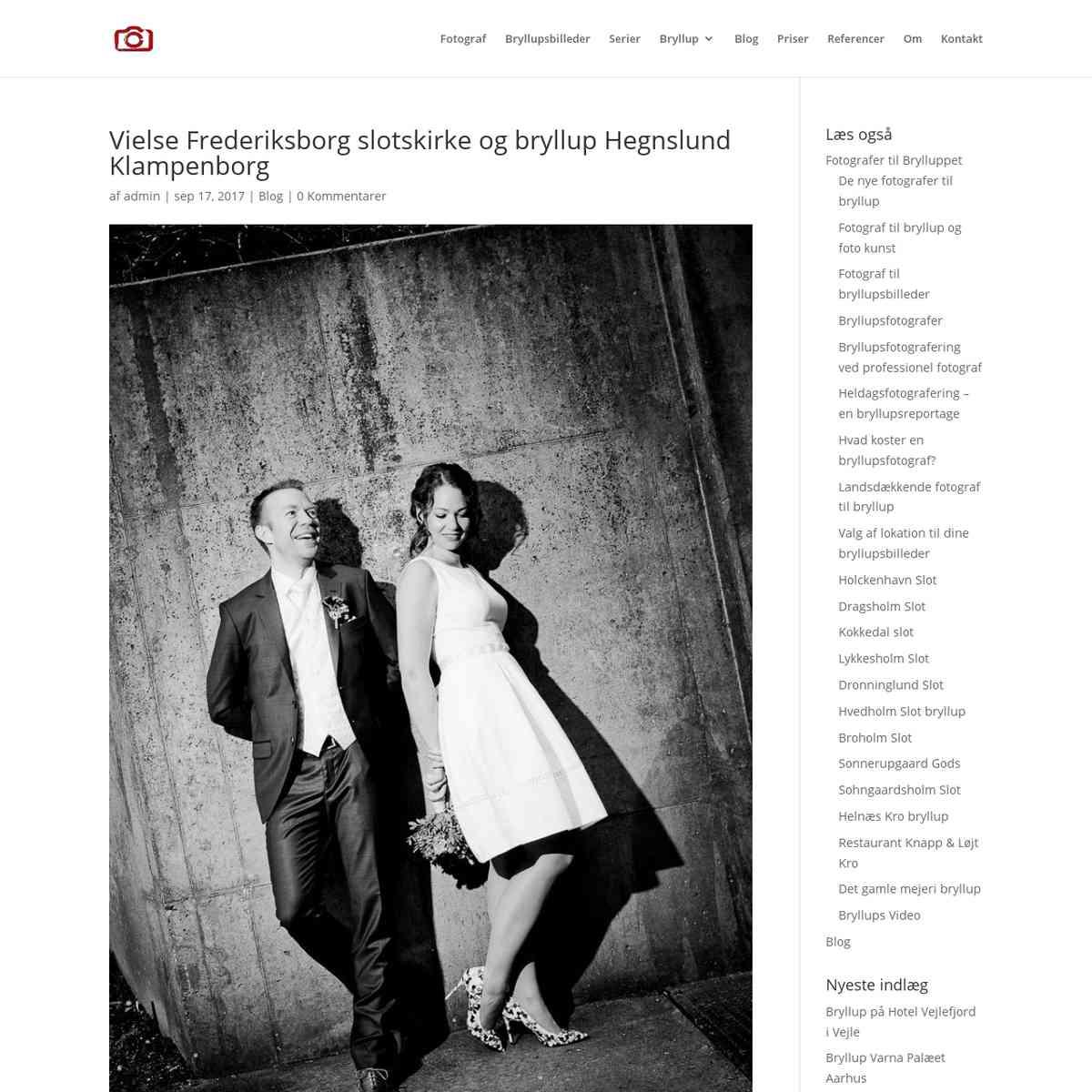 Frederiksborg Slotskirke bryllup