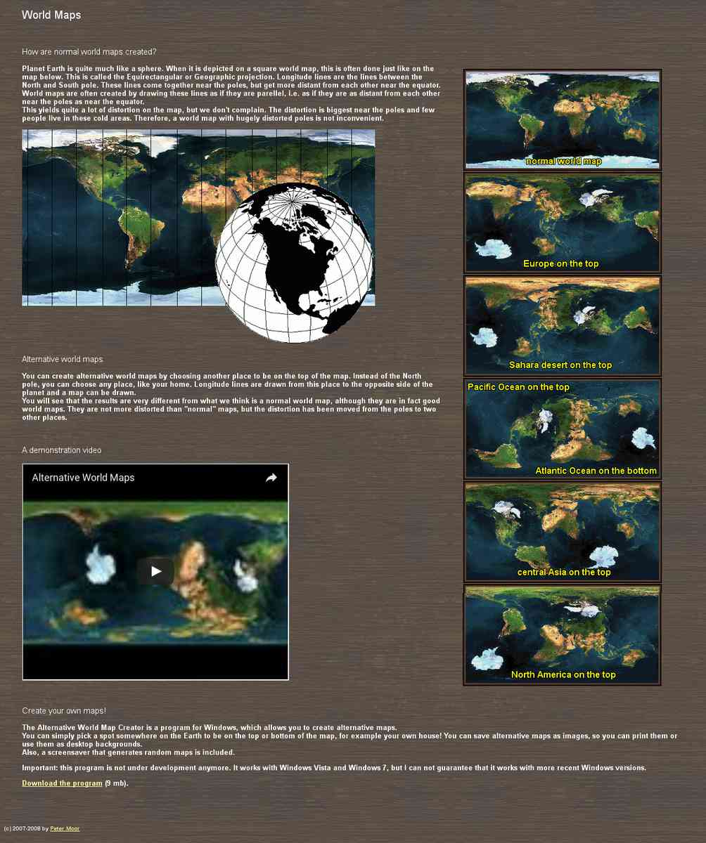 Free Mapper -  Alternative World Maker