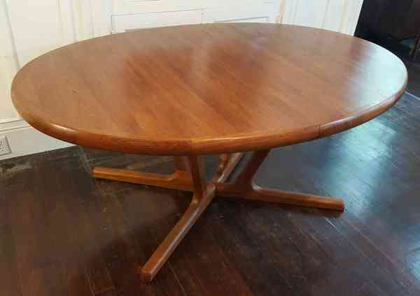 Interform Teak Expanding Dining Table