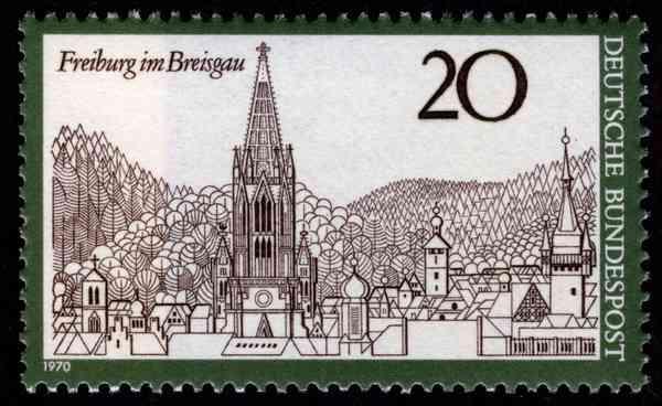 Freiburg im Breisgau, 1970
