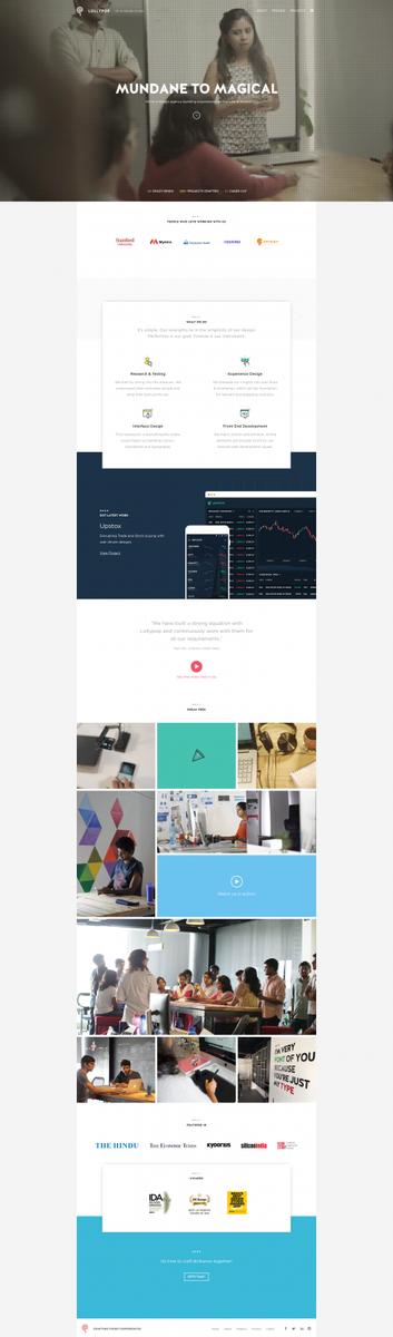 Lollypop - A creative UI/UX Design studio based in Bangalore, India