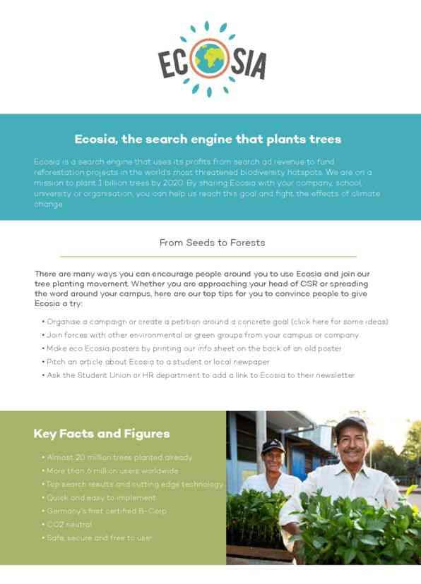 Sharing Ecosia (EN)