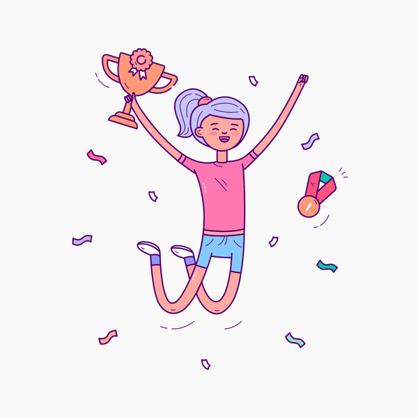 Zaap! Illustration Kit   Girl