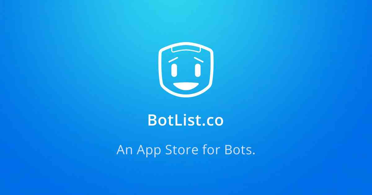 Botlist • An App Store For Bots