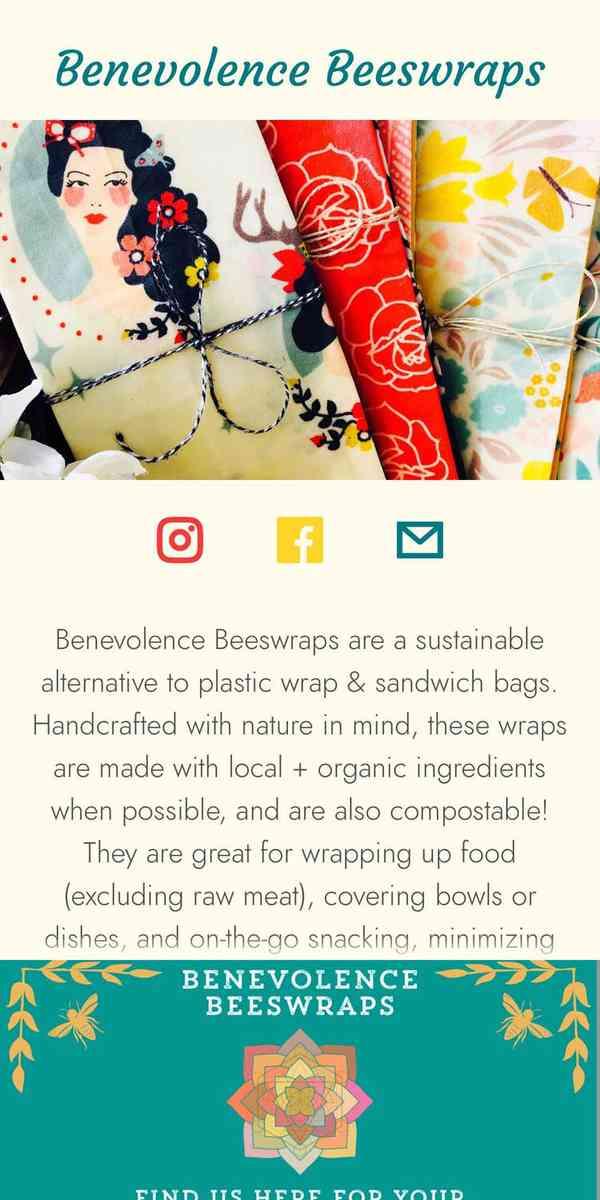 Benevolence Beeswraps
