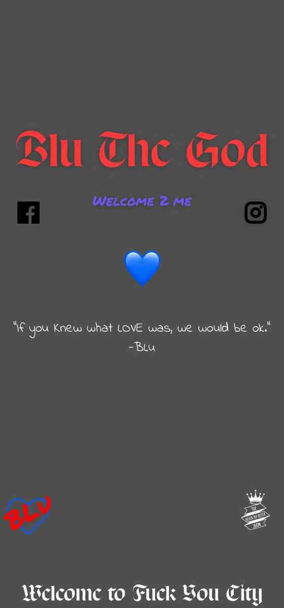 Blu The God