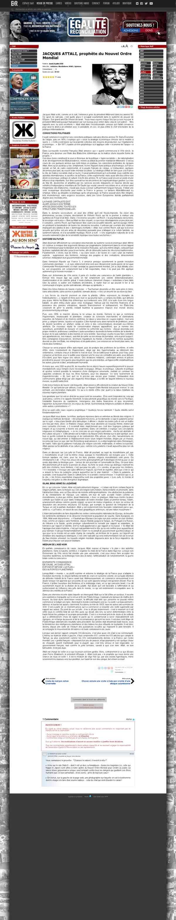 egaliteetreconciliation.fr/JACQUES-ATTALI-prophete-du-Nouvel-Ordre-Mondial-3777.html?fbclid=IwAR33e…
