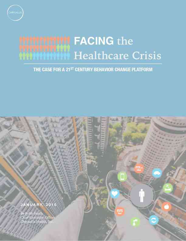 Chrysallis - Facing the Healthcare Crisis