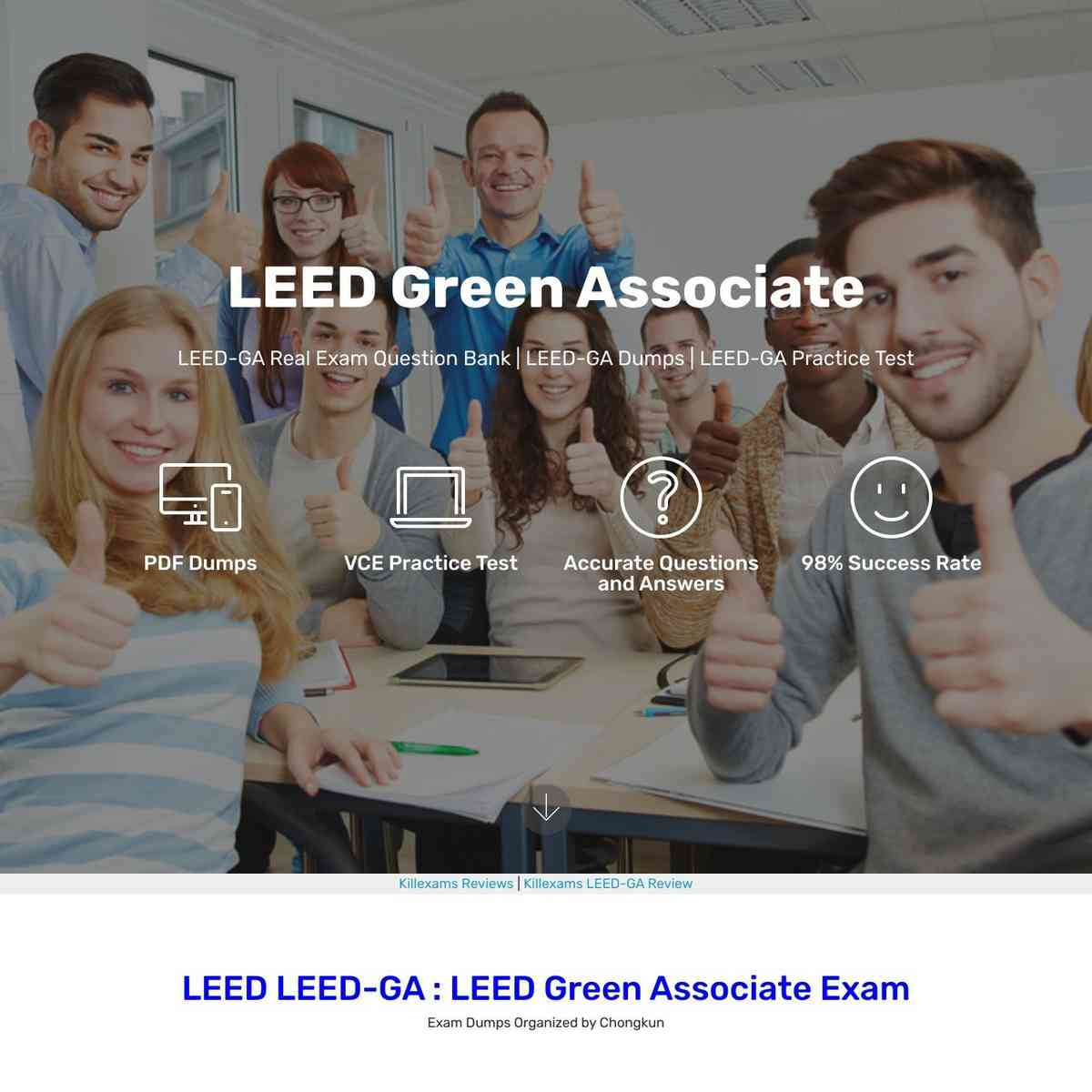 Click and download LEED-GA exam Free PDF and PDF Dumps