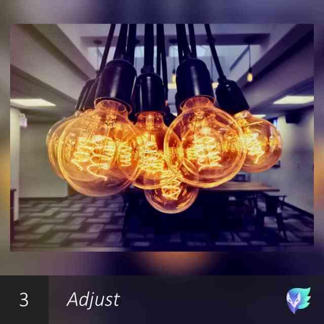 A flock of bulbs - Enlight edit session