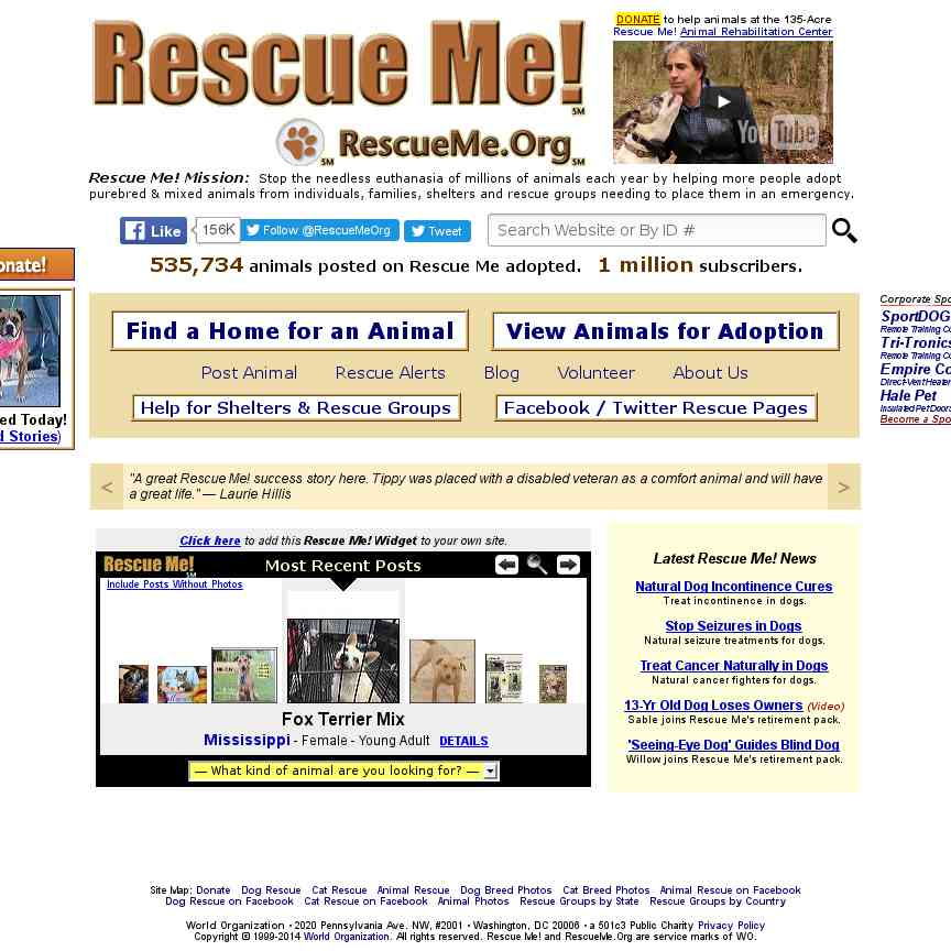 Rescue Groups Directory