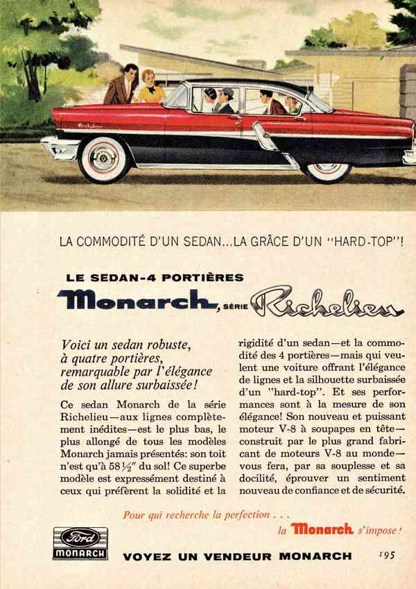 1955 Monarch Richelieu Sedan