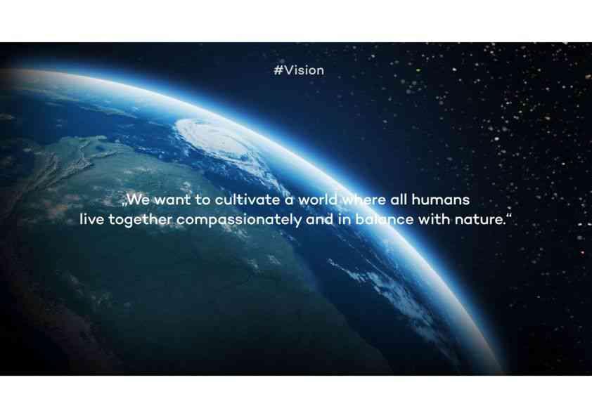 Ecosia's Vision & Mission