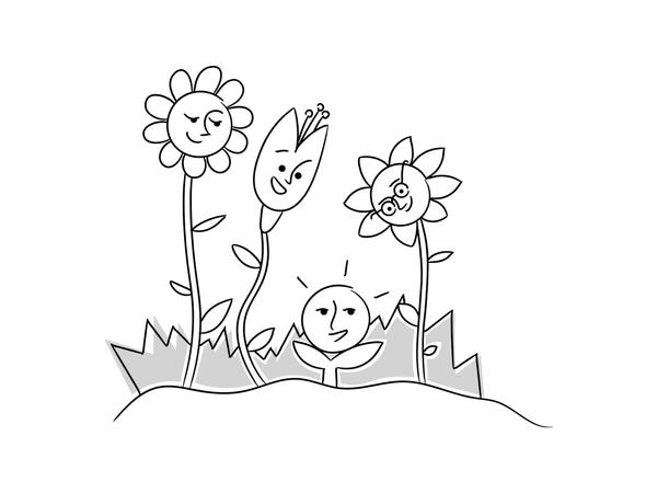 Nankin Illustrations   Flowers