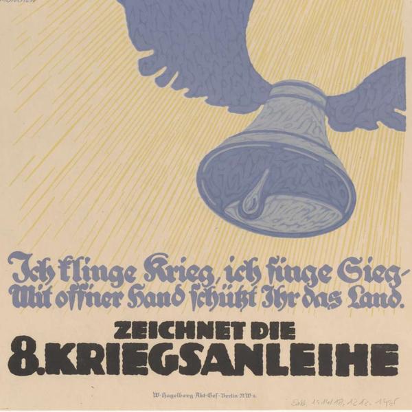 Zeichnet die 8. Kriegsanleihe (WWI poster)