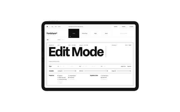 Fontshare   Filters