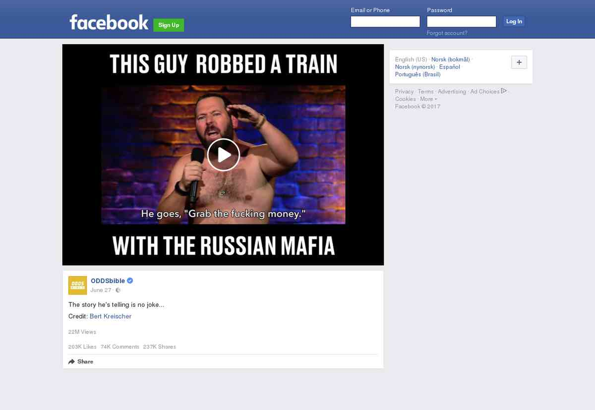 This guy robbed a train with the Russian mafia