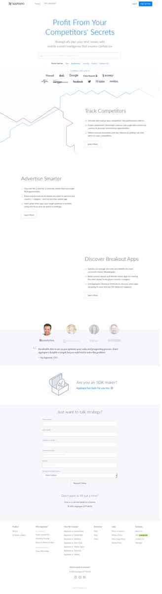 Mobile App Downloads, SDK, Revenue & Usage Data | Apptopia