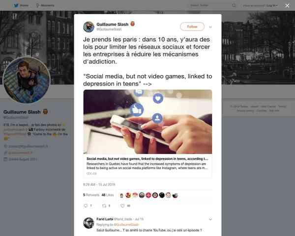 Guillaume Slash 🦉 on Twitter