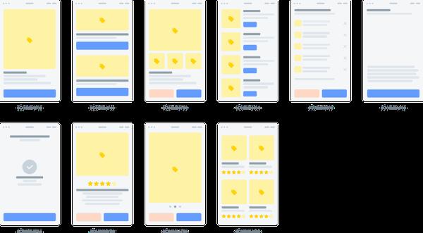 Greyhound Flowcharts | E-commerce, mobile