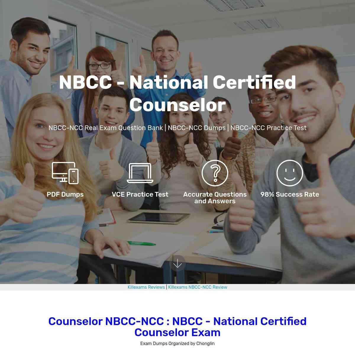 0day free NBCC-NCC Test Prep and PDF Download
