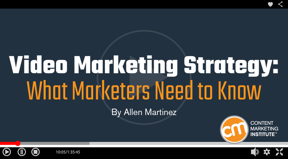 Video Marketing Strategy: What Marketers Need to Know