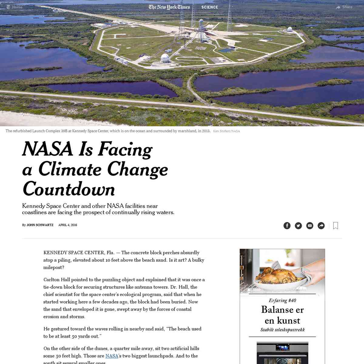 NASA Is Facing a Climate Change Countdown