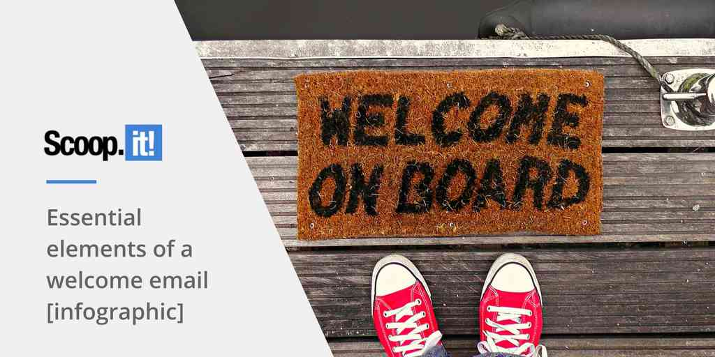 Essential elements of a welcome email [infographic] - Scoop.it Blog