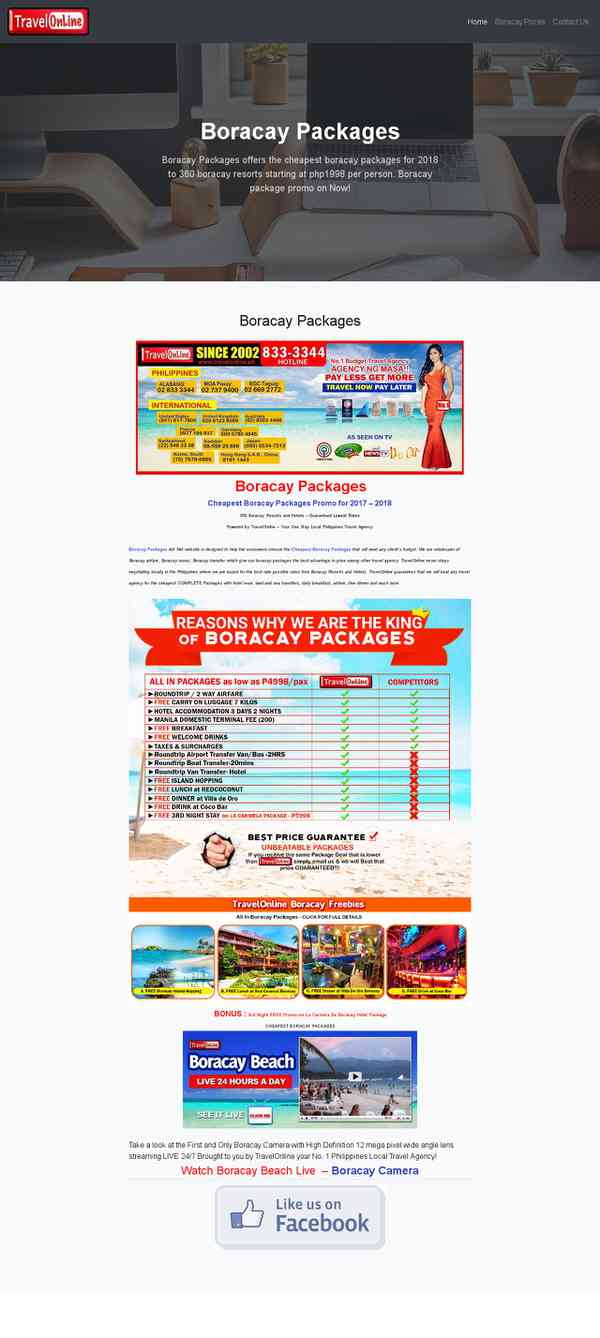 Boracay Packages – Boracay Packages offers the cheapest boracay packages for 2018 to 360 boracay …