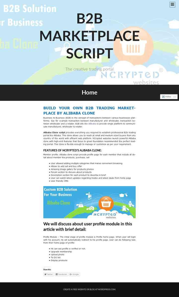 b2bmarketplacescript.wordpress.com