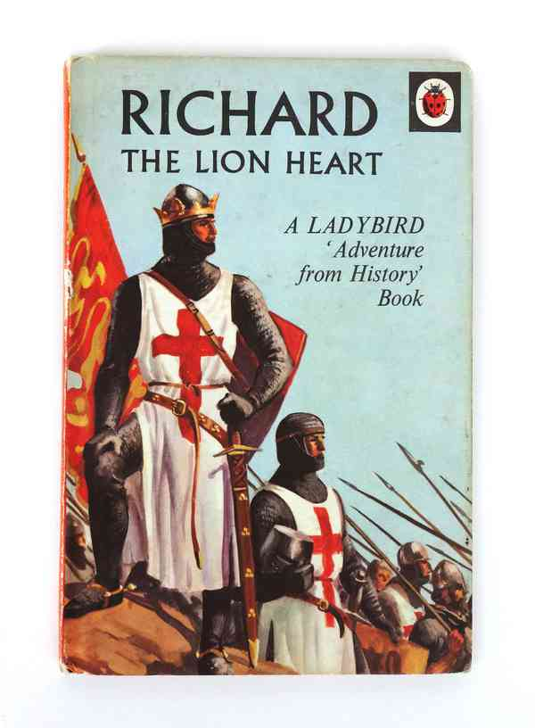 Richard The Lion Heart, Ladybird - Fonts In Use