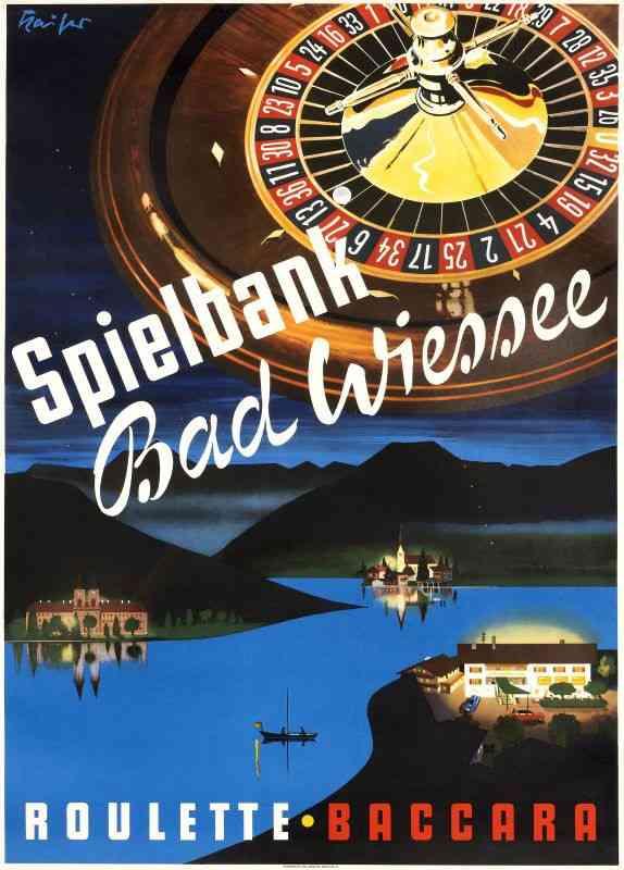 Spiellbank Bad Wiessee, 1954