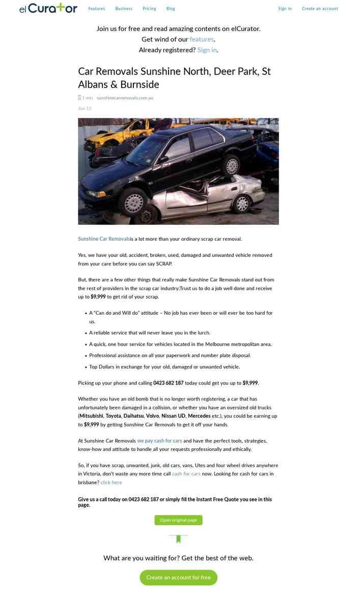 Car removals Burnside