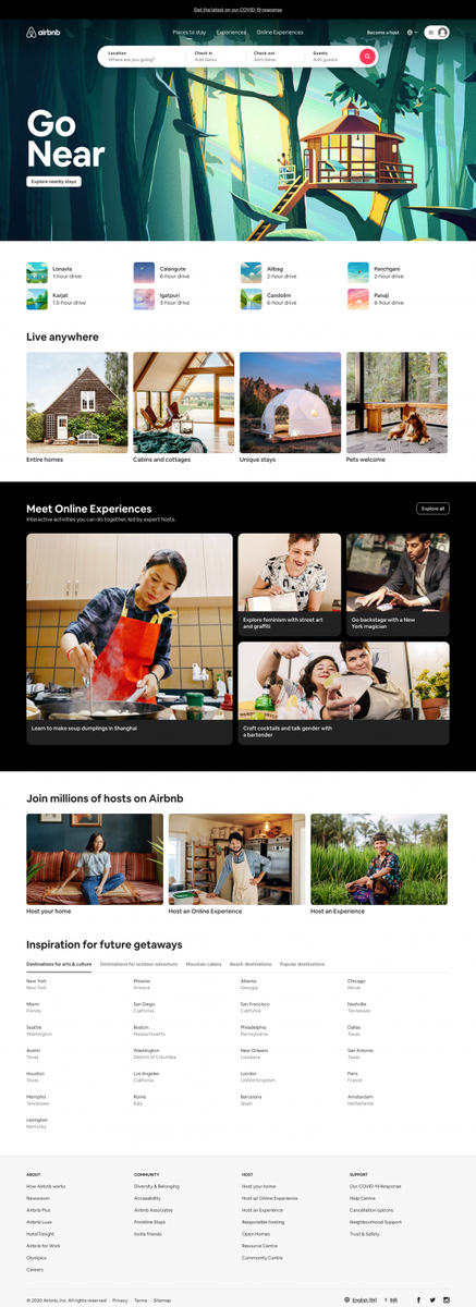 Holiday Lets, Homes, Experiences & Places - Airbnb