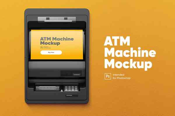 $ ATM Machine Mockup