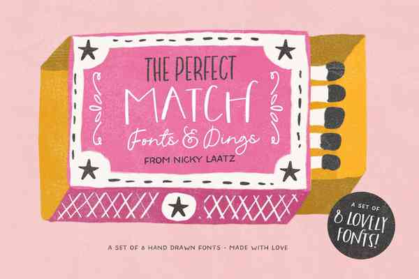 The Perfect Match Fonts and Dings