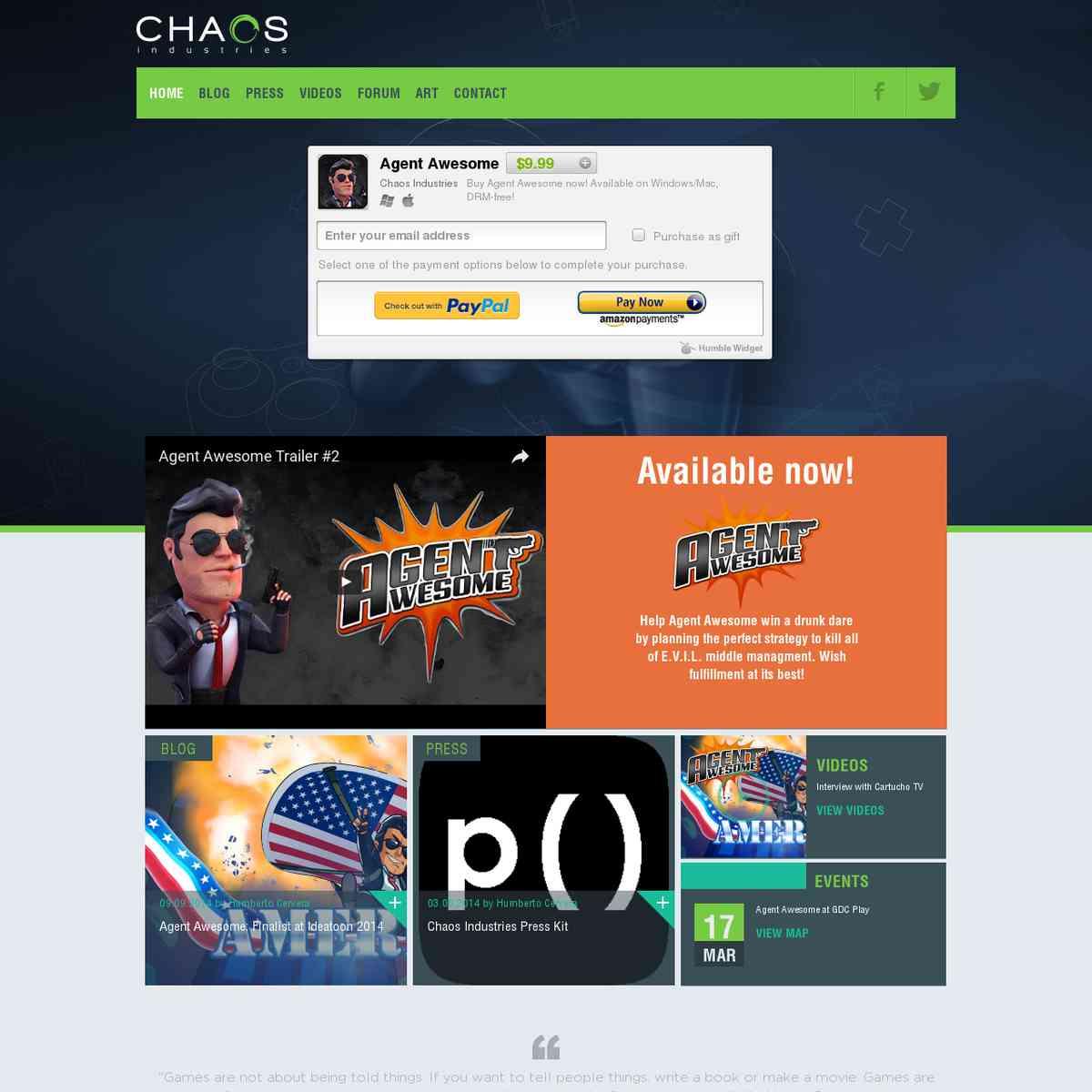 chaosindustries.com.mx