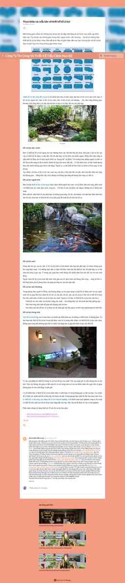 Tham khảo các mẫu bản vẽ thiết kế hồ cá koi