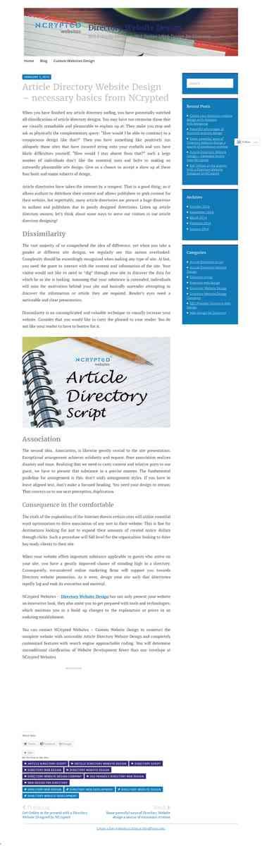 directorywebsitedesign.wordpress.com/2014/02/03/article-directory-website-design-necessary-basics-f…